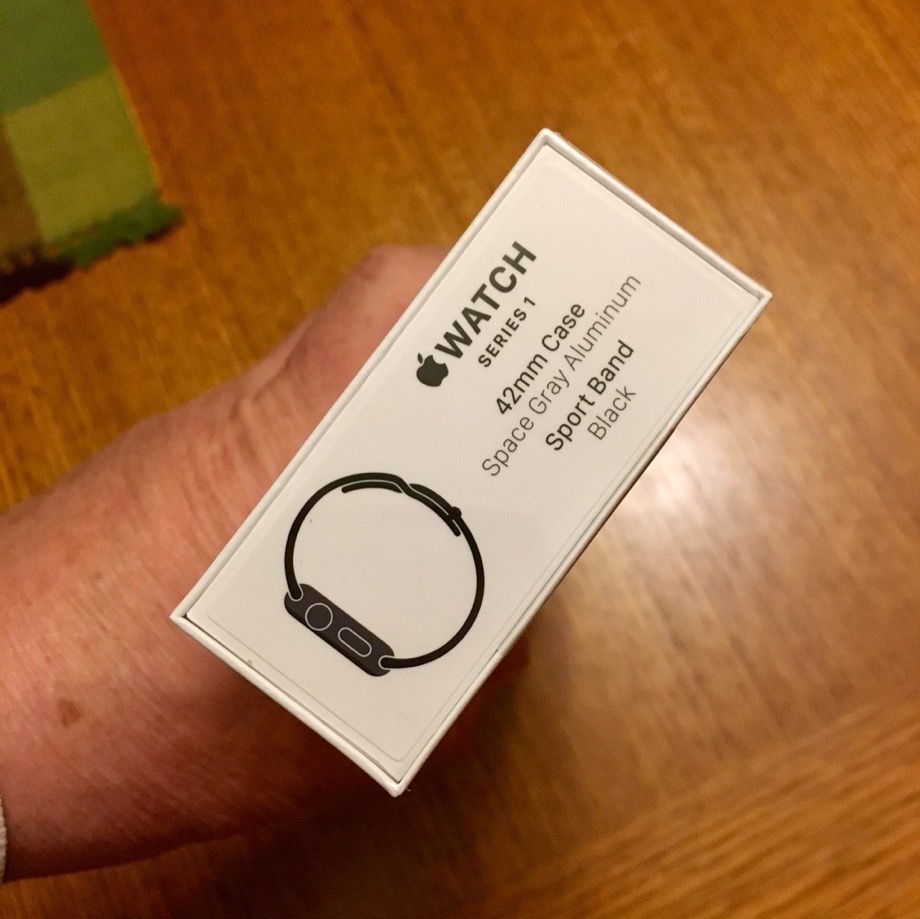 Watch Series 1 Box