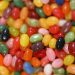 Blurry Jelly Beans Parallax iPX