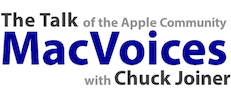 MacVoices Logo 231 x 100